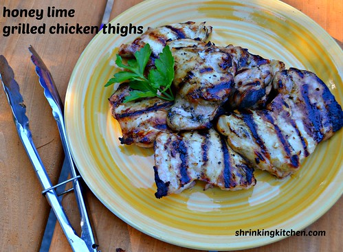 grilled chicken thighs