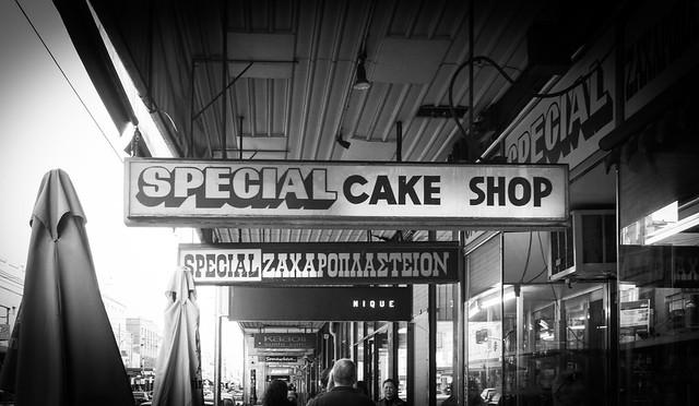 海外のケーキショップ
