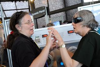 Deaf-Blind Camp of Maryland Visits NASA Goddard