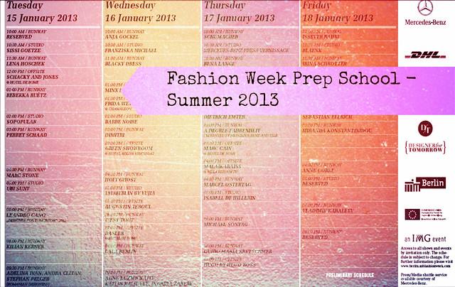MBFW Berlin Prep School - Summer 2013 I Style By Charlotte