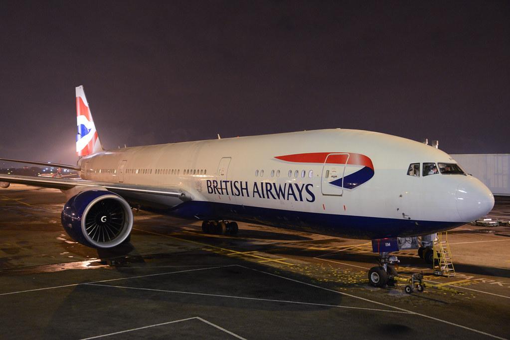 British Airways 777-200ER G-VIIM