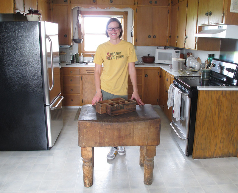 I finally have my own butcher block!