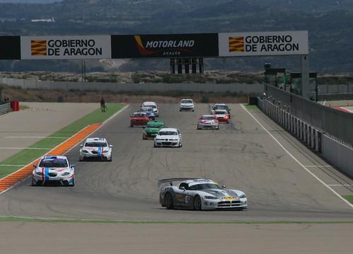Salida X Trofeo de Velocidad de automovilismo Motorland Aragón