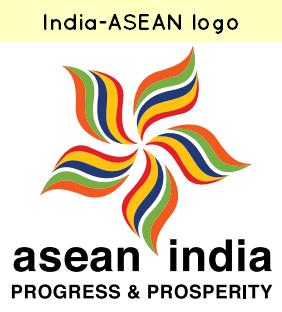 India ASEAN logo
