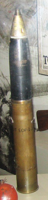NMAH105 - WWI - French - 75mm Artillery Shell