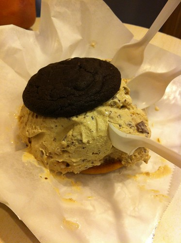 Delicious Ice Cream Sandwich