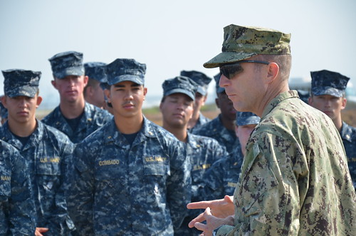 San Diego, CA - Over five hundred Midshipmen from the U.S. Naval Academy visited San Diego as part of their summer training regimen.