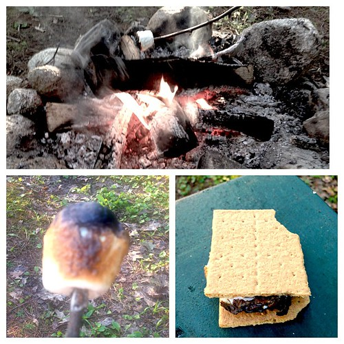 S'more time.