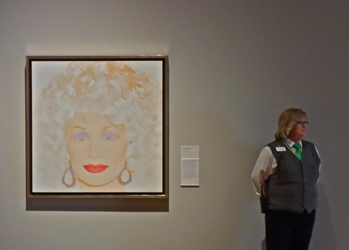 Dolly Parton and the Museum Guard