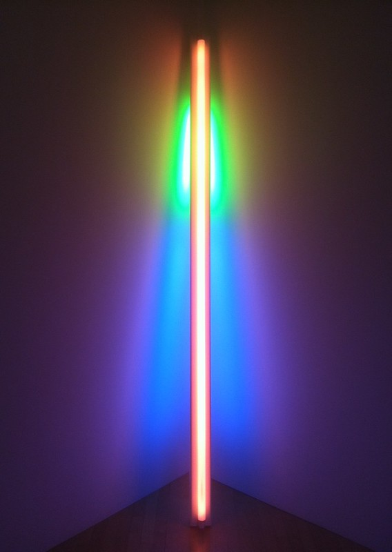 "Dan Flavin, ""untitled"" (1976)"