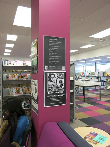 Central Library Peterborough posters.