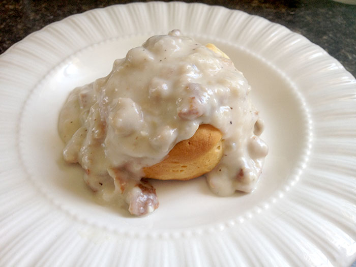 Vegetarian Biscuits & Gravy Recipe