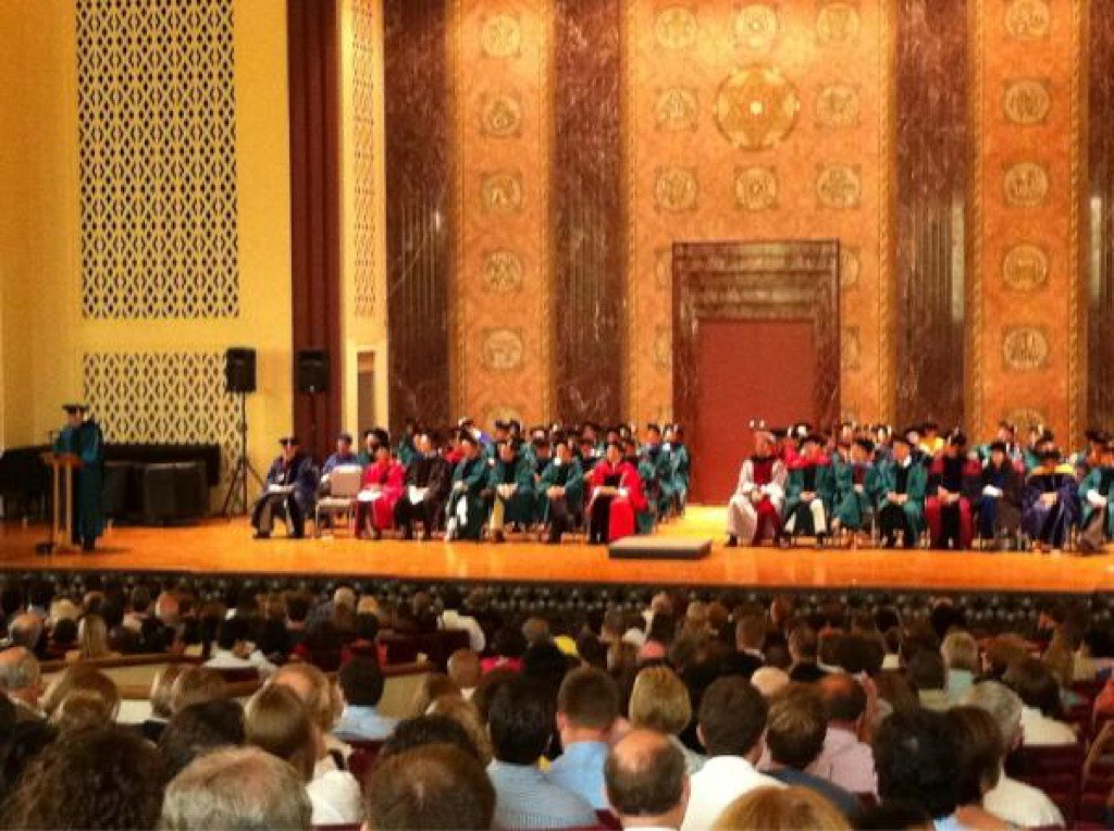 DBBS graduates at 2012 Graduate School of Arts & Sciences Recognition Ceremony | Washington University in St. Louis
