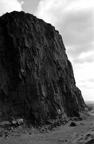 "Image titled ""Rock, Holyrood Park, Edinburgh."""