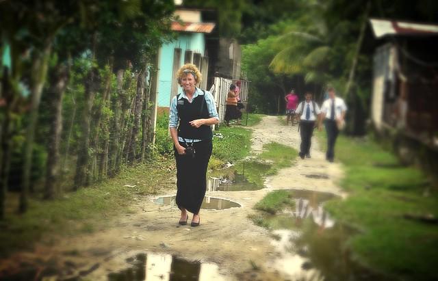 Me . . . in Honduras