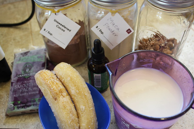 Raw Chocolate Acai Bowl Recipe