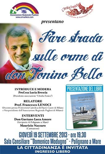 Conferenza su Don Tonino Bello a Polignano