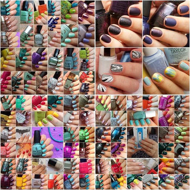 My Summer Manicures 2013