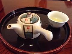Fudouin in Koya-san - tea service