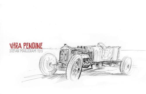 pendine 58 by Stefan Marjoram