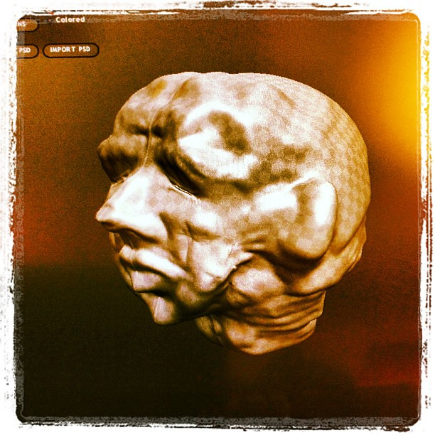 My first sculpture with sculptris