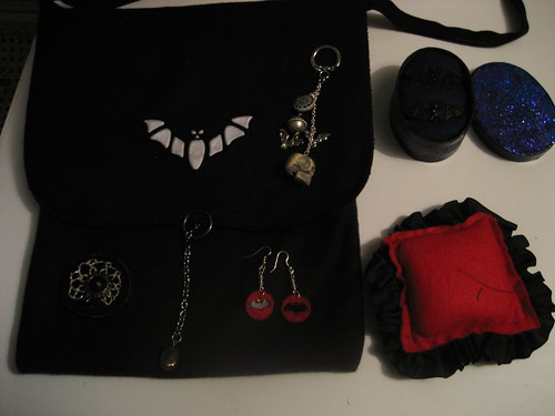 Stuff I made for Goth Swap