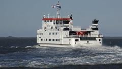Ferry - Veerboot - Fähre   Rottum to Schiermonninkoog