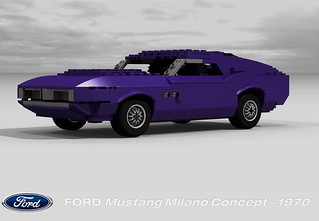 Ford Mustang Milano Concept - 1970
