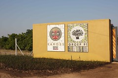 Kaross signage, Kaross Factory, Limpopo, South Africa