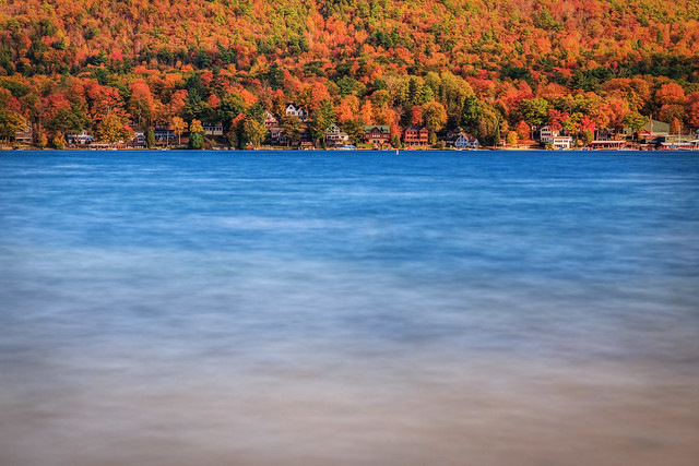 A Beautiful Fall Afternoon in Lake George