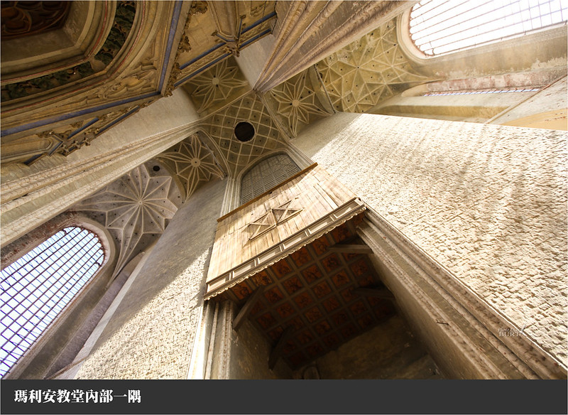 瑪利安教堂內部一隅
