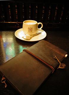 フランソア喫茶室にて