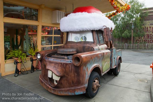 Disneyland Dec 2012 - Christmas in Cars Land