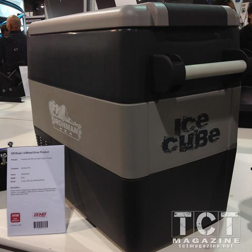 Ironman 4x4 Ice Cube fridge SEMA 2013