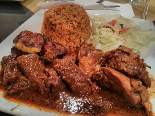 Dominican Stewed Beef and Chicken