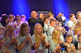 Brassbandfestivalen 2013 - Förstärkning i orkestern (Foto: Olof Forsberg)