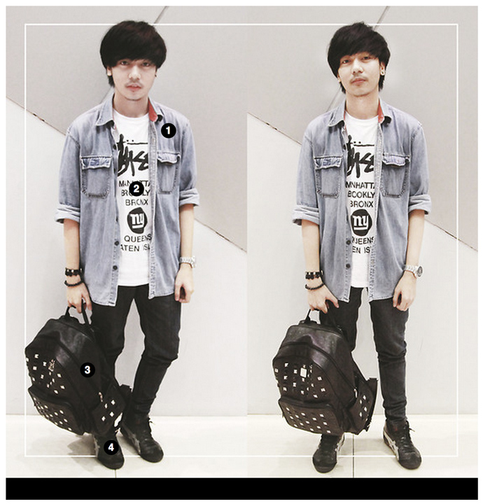 Lookbook.nu Tantris Backpack Punk Style Vote3