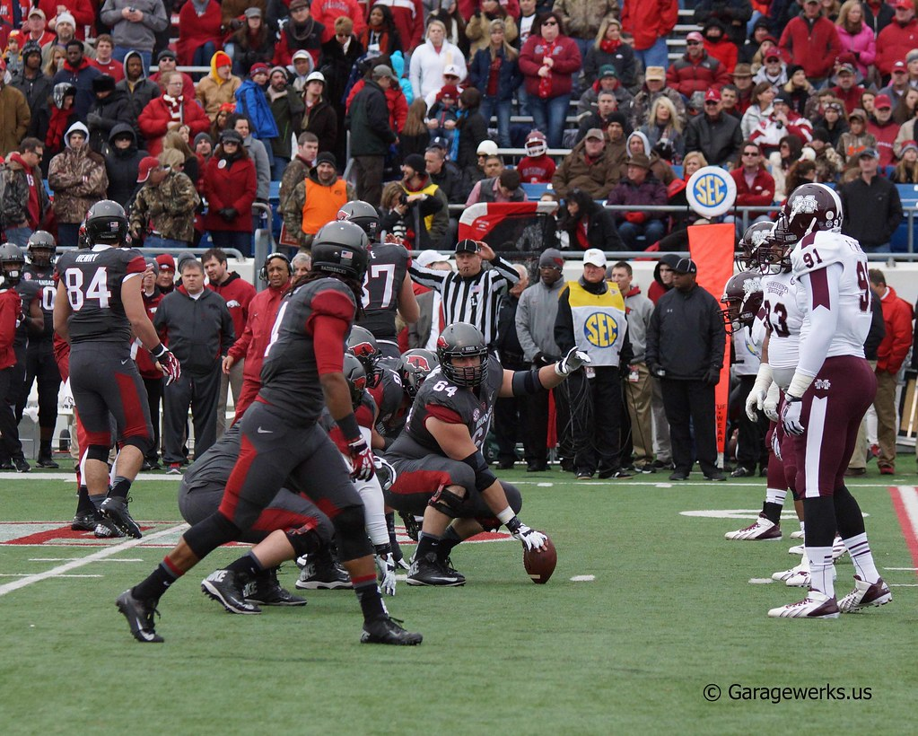University of Arkansas Razorbacks vs Mississippi State University Football