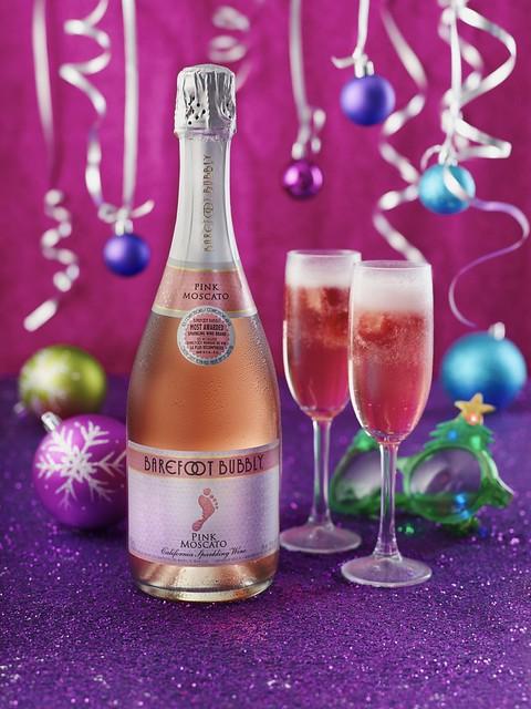 Barefoot Bubbly Pink Moscato Festive Fizz