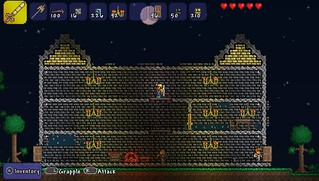 Terraria on PS Vita