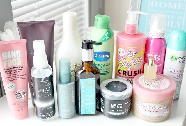 My Favourite Hair and Body Products of 2013 2