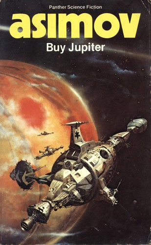 Buy Jupiter by Isaac Asimov. Panther 1982. Cover artist Peter Andrew Jones
