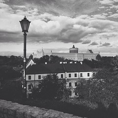 View of the Lublin royal castle. It used to be a very important and popular city for the royalties, trade, industry....