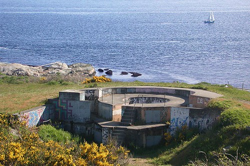 Fort Macaulay, Esquimalt, Victoria, Vancouver Island, British Columbia, Canada
