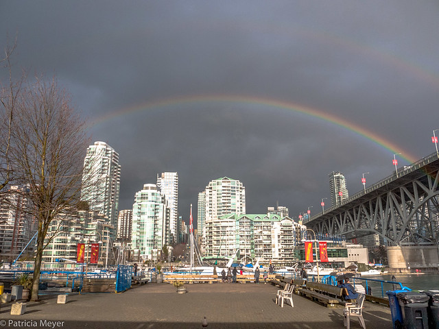 English Bay Rainbow