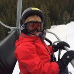 Jack on the chairlift