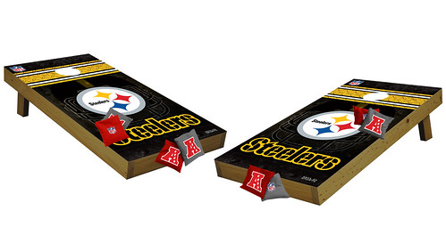 Pittsburgh Steelers Premium Cornhole Boards