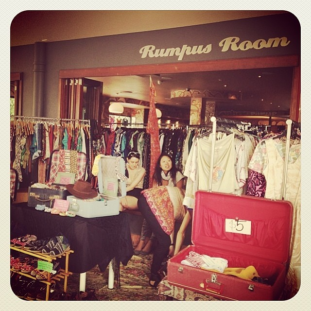 vintage and designer markets