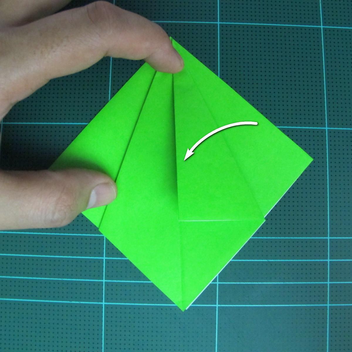 วิธีพับกระดาษเป็นจรวด X-WING สตาร์วอร์ (Origami X-WING) 011