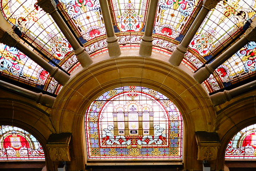 stained glass Queen Victoria Building (QVB) 22